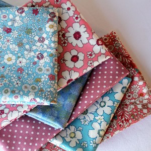 summer meadow bundle of 100% cotton fabric