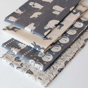 scandi grey fabric