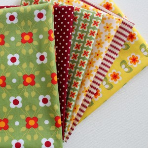 whoopsie daisy fabric fat quarters pack