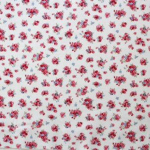 bunches of pink roses fabric