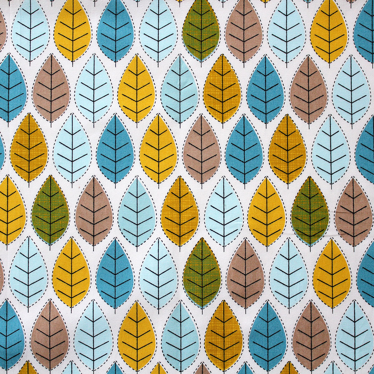 6 Fat Quarters - Leaf Forest - Overdale Fabrics