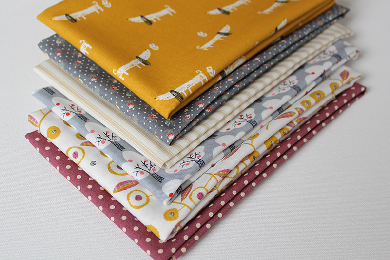 a walk in the park fabric bundle