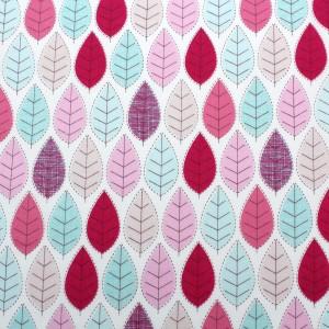 stitched leaf summer