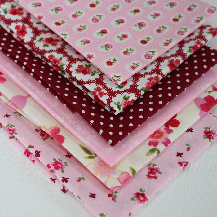 pretty in pink fabric bundle