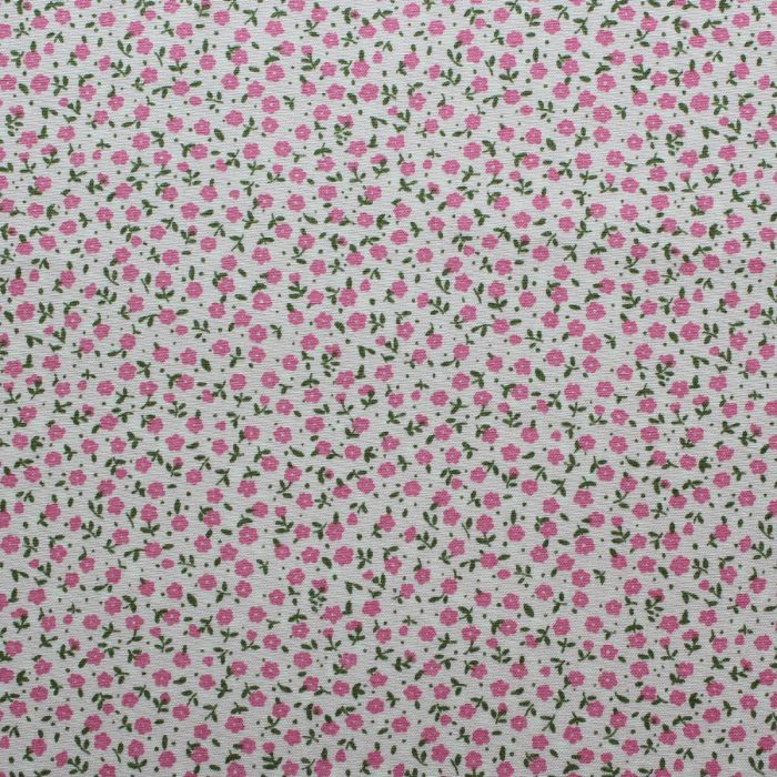 dainty floral fabric
