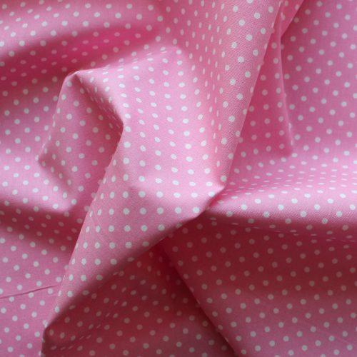 pink spot fabric