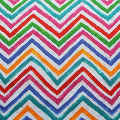 freeform chevron design fabric