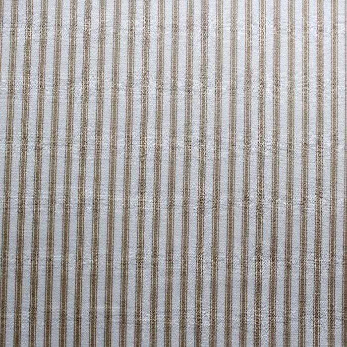 beige ticking stripes
