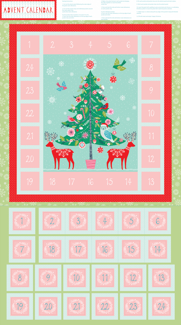 dashwood studios advent calendar sewing kit