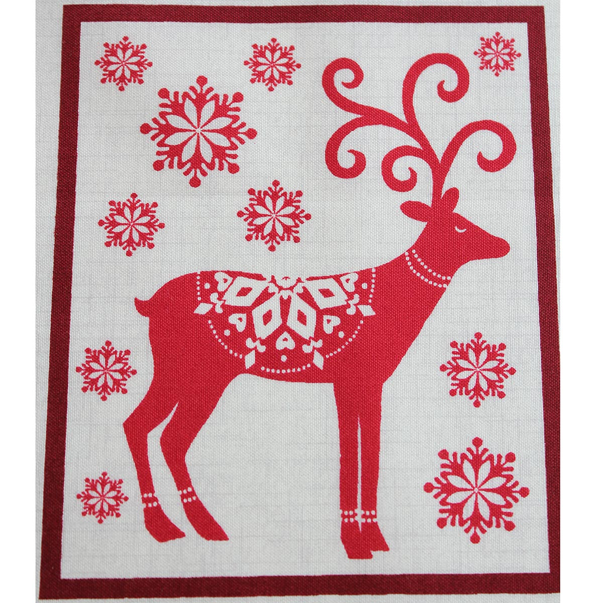 Scandi Christmas Panel Sewing Pack Overdale Fabrics