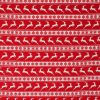 red reindeer striped fabric.