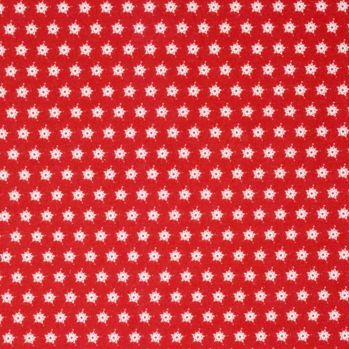 Red star fabric.