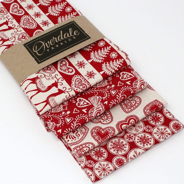 red scandi christmas pack