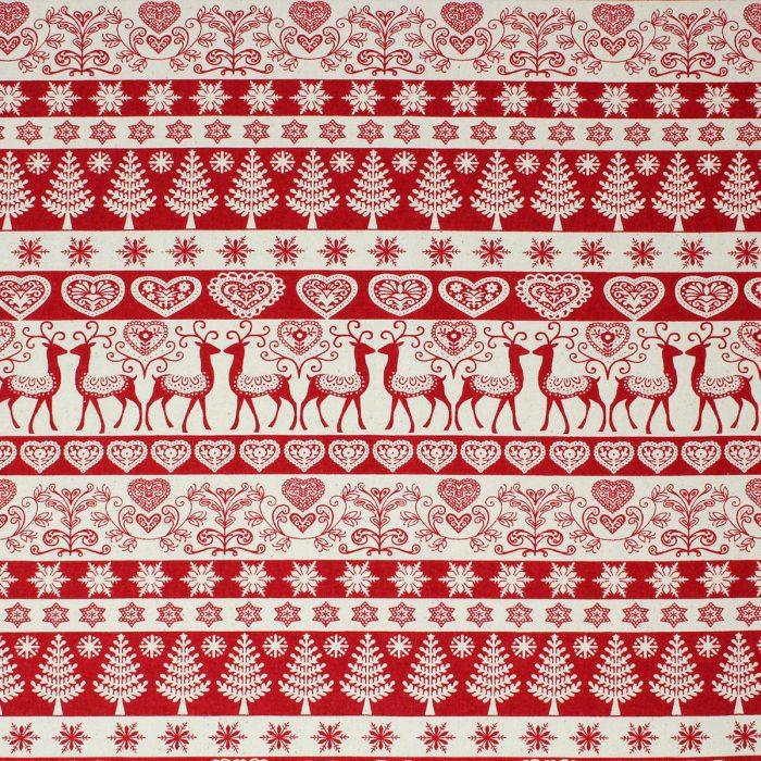stag scandi design fabric