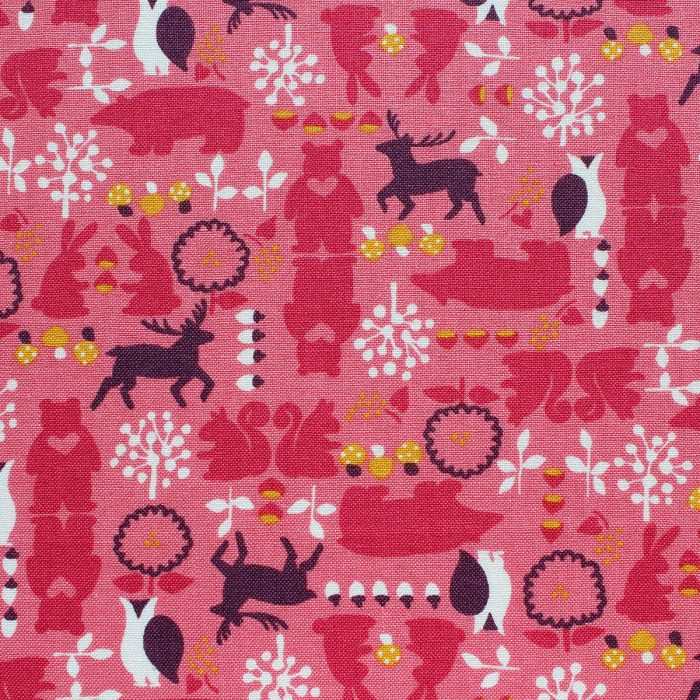 forest bears fabric