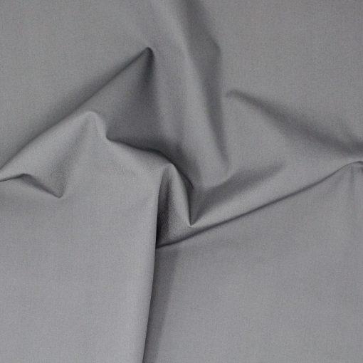 Plain grey solid fabric.