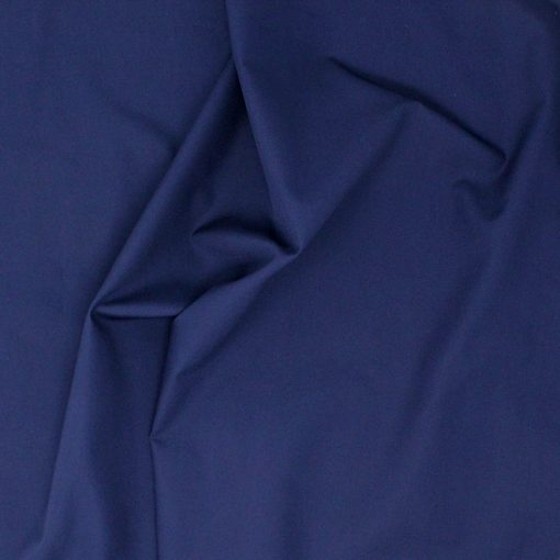 Deep blue plain solid fabric.