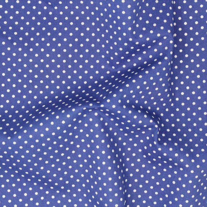 Copen blue polka dot.