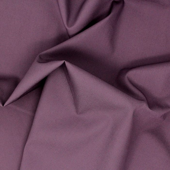 Deep purple plain solid fabric.