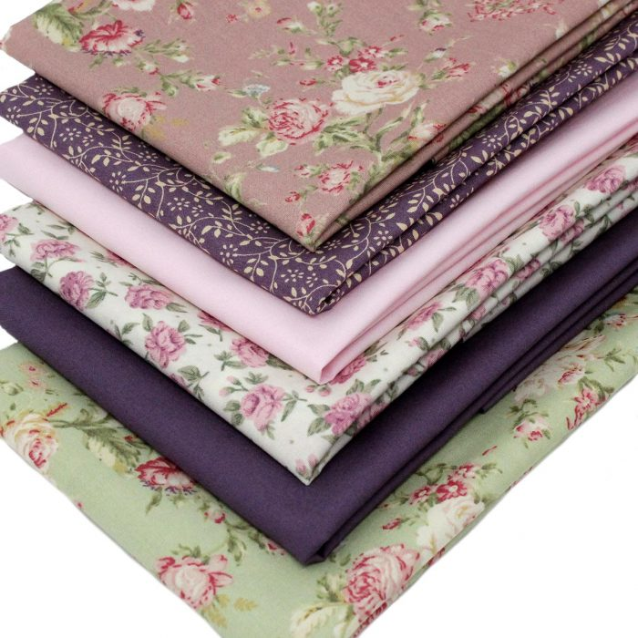 vintage rose fat quarter pack