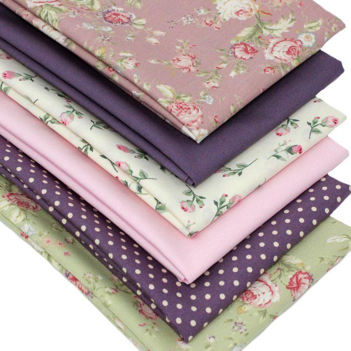 vintage rose fat quarter fabric.