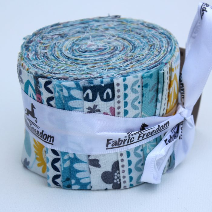 Petit Fleur jelly strips of fabric in a roll