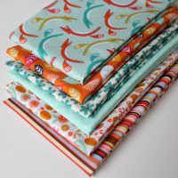 fox in the forest fabric bundle