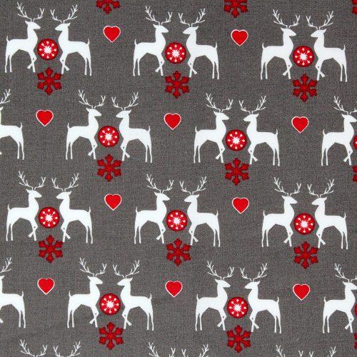 woodland deer fabric