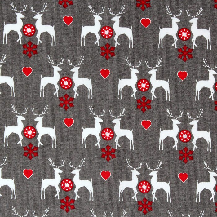 woodland deer fabric