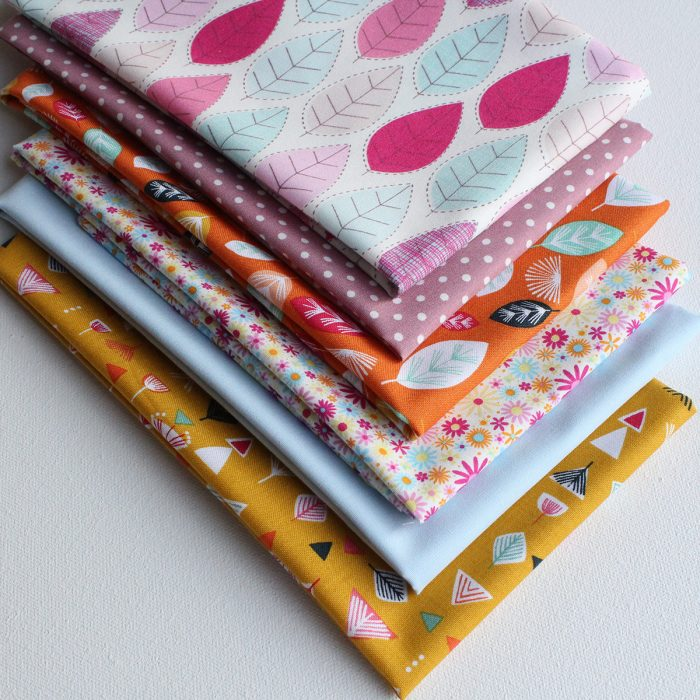 Crafters cotton fabric in a fat quarter pack.