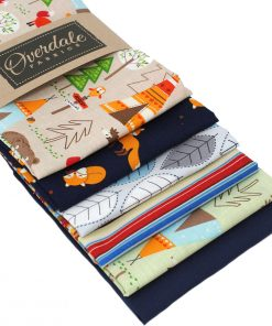 Woodland animal fat quarter pack.