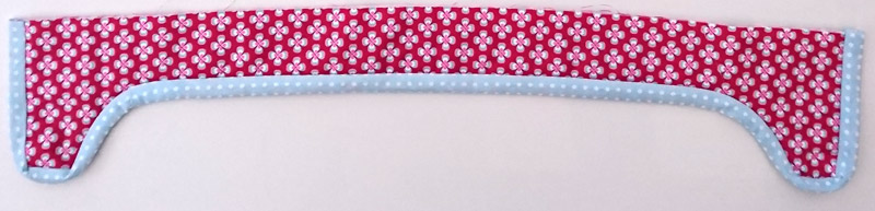Adding polka dot binding.