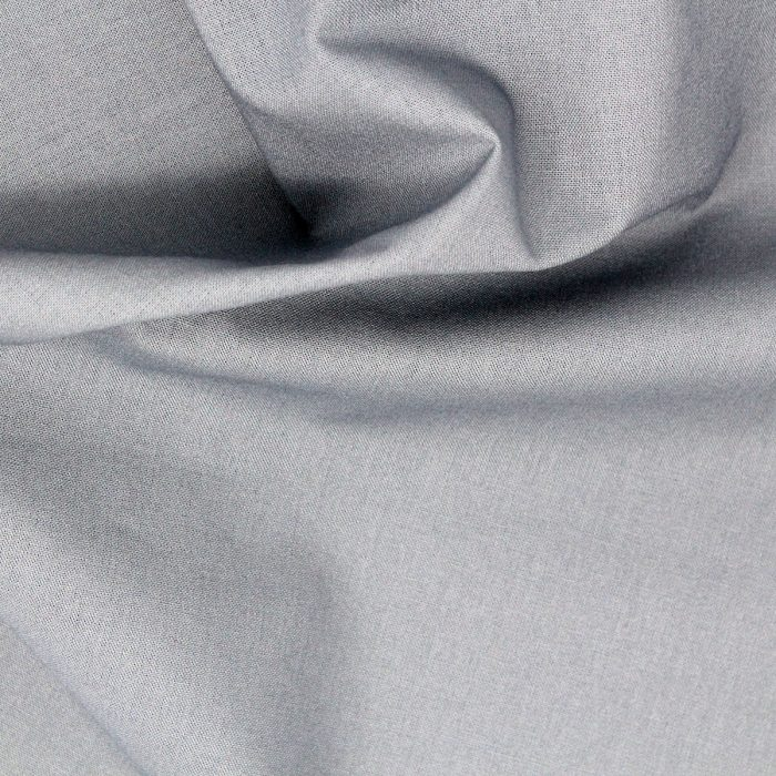 Grey fabric.