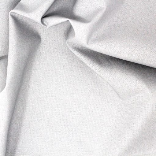 Light grey fabric.