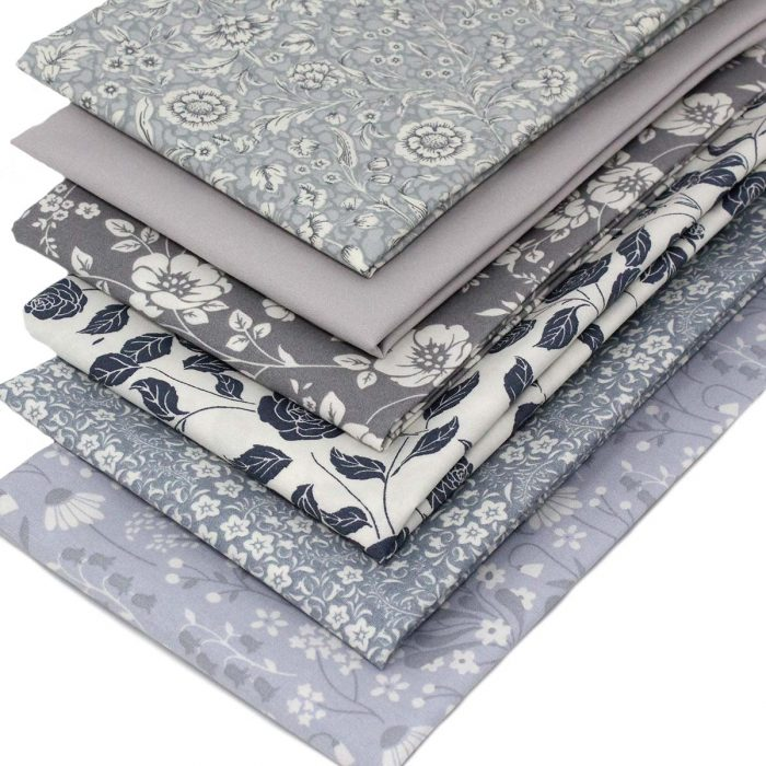 Grey fat quarter pack.