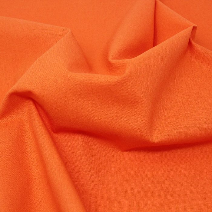 orange plain solid fabric
