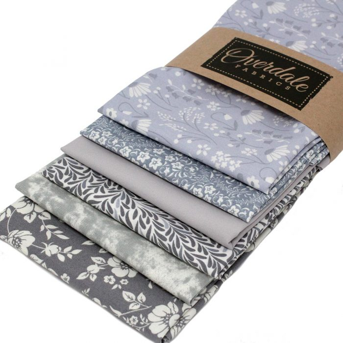 grey fat quarter cotton fabrics