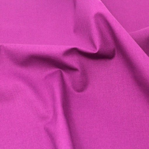 Violet plain solid fabric.