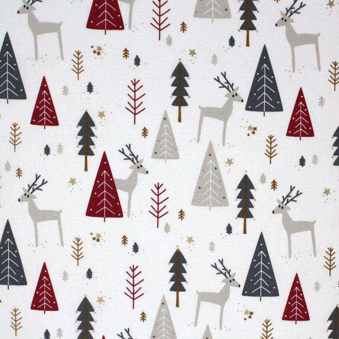 Reindeer fabric.