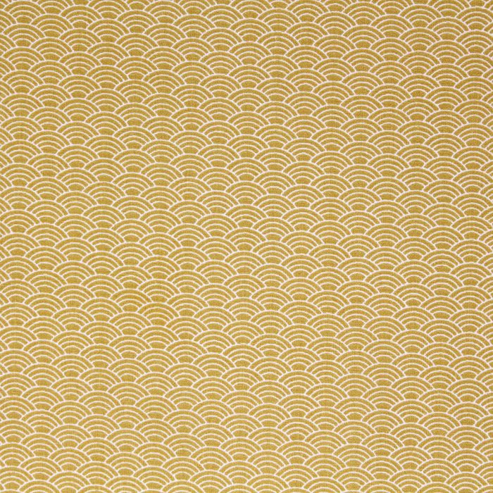 mustard wave fabric