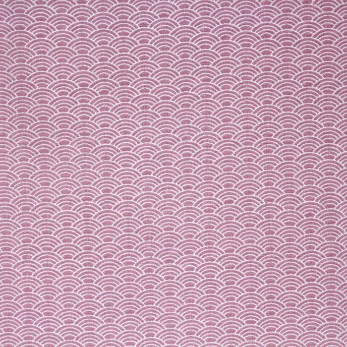 pastel pink wave fabric