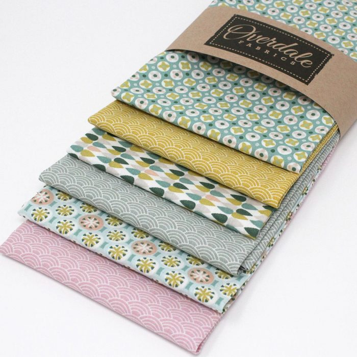 fat quarter pack sea spray