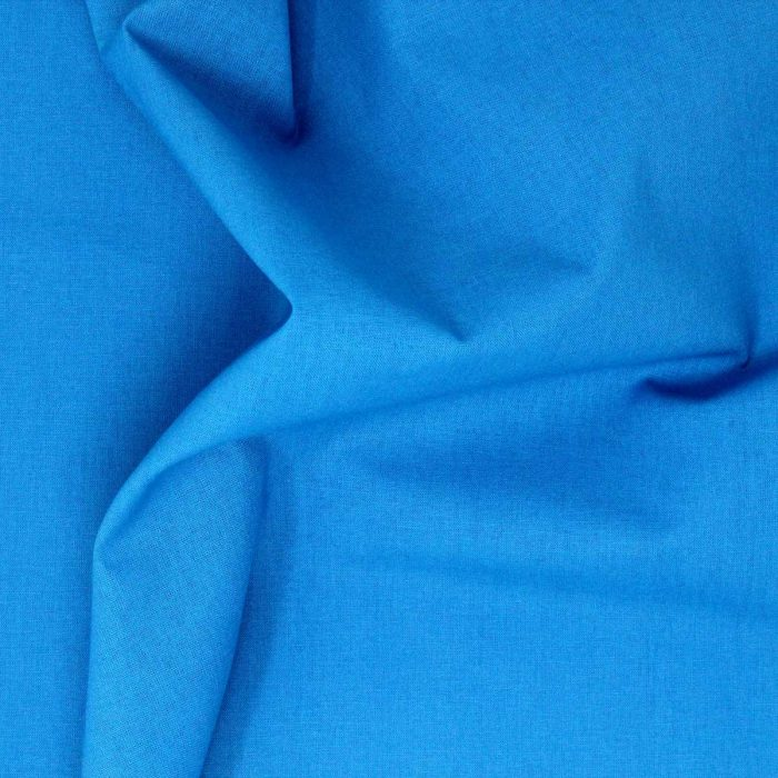 Blue turquoise fabric.