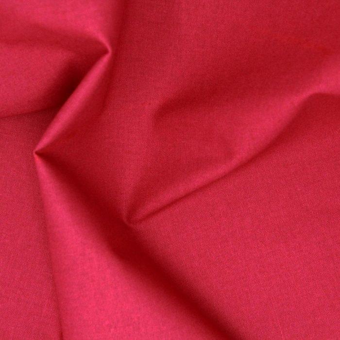 Wine red fabric.