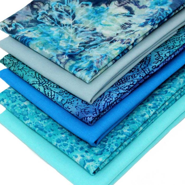 Blue fat quarter pack.