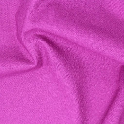 Damson plain fabric