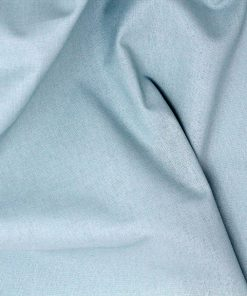 Duck Egg blue plain fabric.