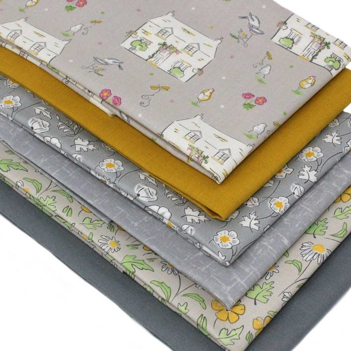 Cottage Garden six fat quarter pack
