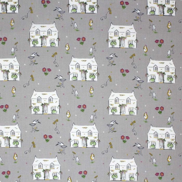 Cottage Garden fabric by Debbie Shore