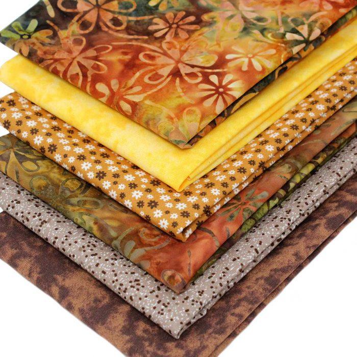 Natural shades batik bundle.